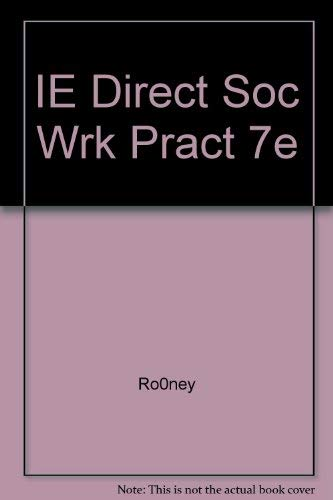 9780495008552: direct social work practice theory and skills instructor's edition