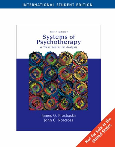 9780495009474: Systems of Psychotherapy: A Transtheoretical Analysis (Ise)