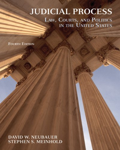 9780495009948: Judicial Process: Law, Courts, and Politics in the United States