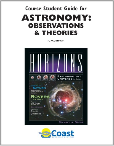 9780495010074: Telecourse Student Guide Astronomy: Observations