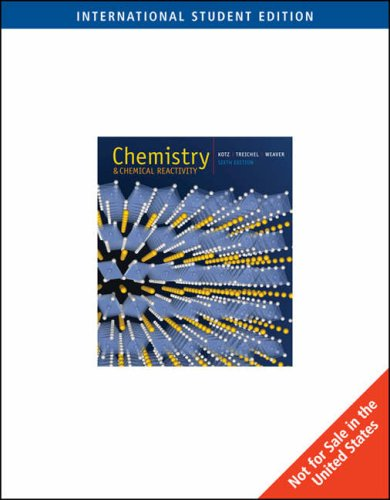 9780495010357: Chemistry and Chemical Reactivity