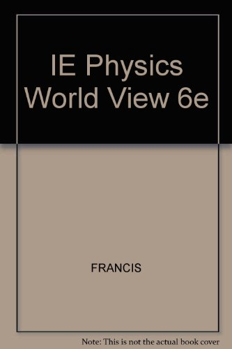 9780495010890: IE Physics World View 6e