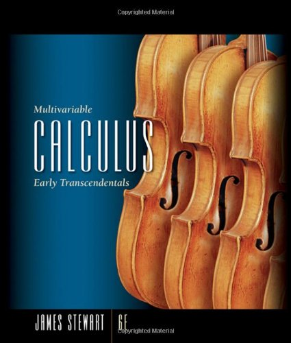 Multivariable Calculus: Early Transcendentals (Available 2010 Titles: James Stewart