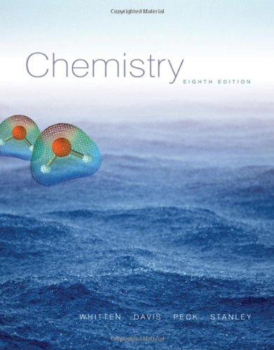 Chemistry (with CengageNOW Printed Access Card) (Available: Whitten, Kenneth W.;