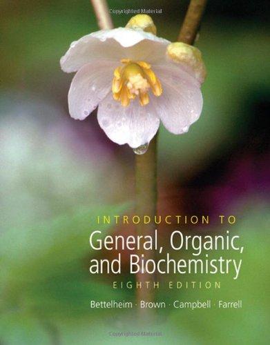 Introduction to General, Organic And Biochemistry (William: Frederick A. Bettelheim,