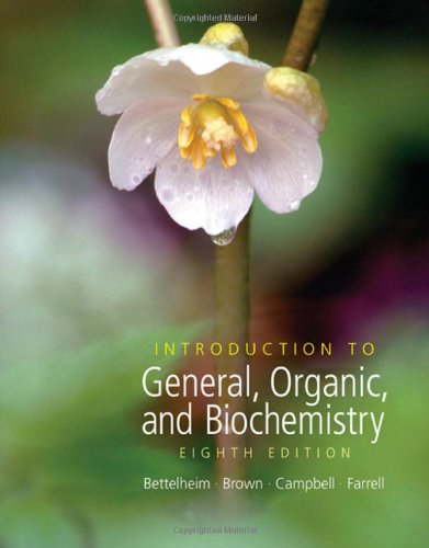 9780495011972: Introduction to General, Organic and Biochemistry (with CD-ROM and CengageNOW Printed Access Card) (William H. Brown and Lawrence S. Brown)
