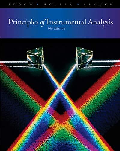 9780495012016: Principles of Instrumental Analysis
