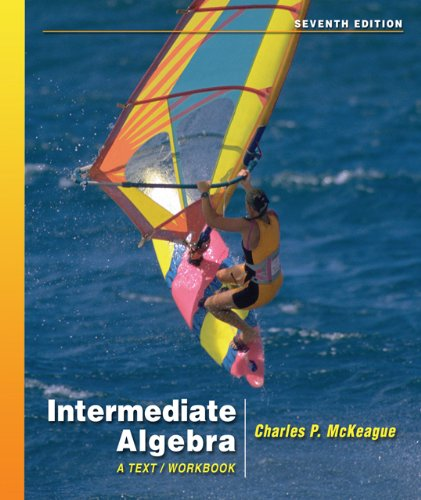9780495012504: Intermediate Algebra : A Text/Workbook (7th Edition with Digital Video Companion CD-ROM) (Available 2010 Titles Enhanced Web Assign)