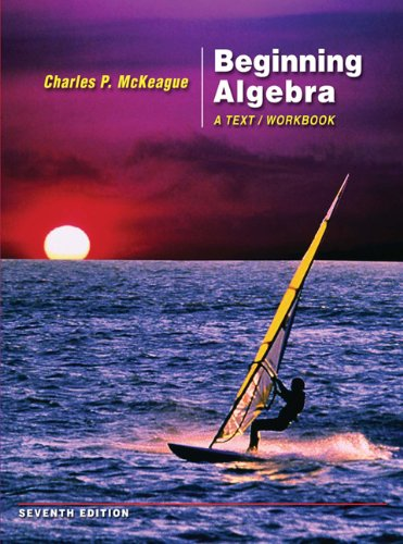 9780495012528: Beginning Algebra: A Text/Workbook (with Digital Video Companion and CengageNOW Printed Access Card)