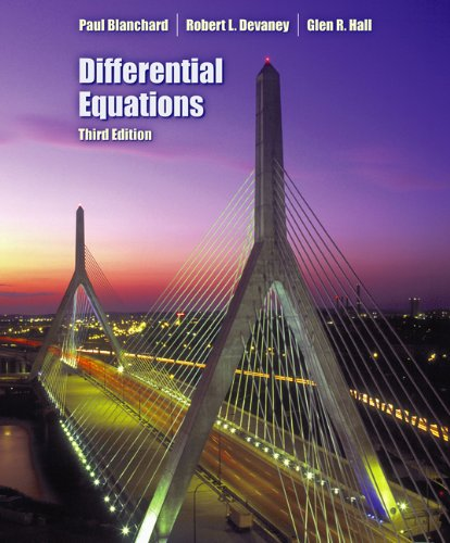 9780495012658: Differential Equations (with CD-ROM)