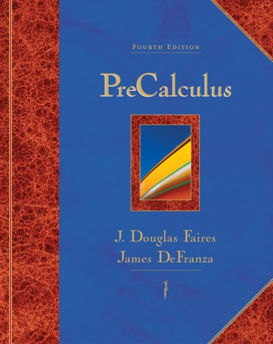 9780495012696: Precalculus (Available 2010 Titles Enhanced Web Assign)