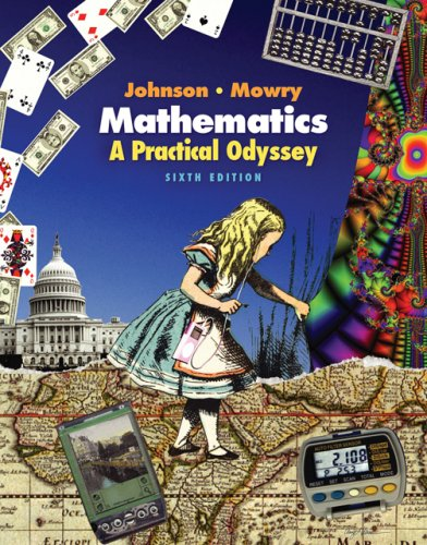 9780495012733: Mathematics: A Practical Odyssey (with CengageNOW, Personal Tutor, and Student Book Companion Site Printed Access Card) (Available Titles CengageNOW)