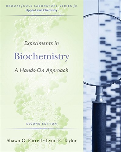 9780495013174: Experiments in Biochemistry: A Hands-on Approach (Brooks/Cole Laboratory)