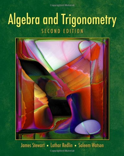 Algebra and Trigonometry- 2nd Edition (with Video: James Stewart, Lothar