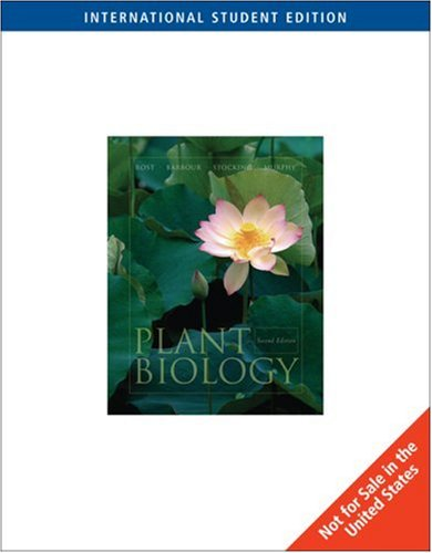9780495013938: Plant Biology : With Infortrac