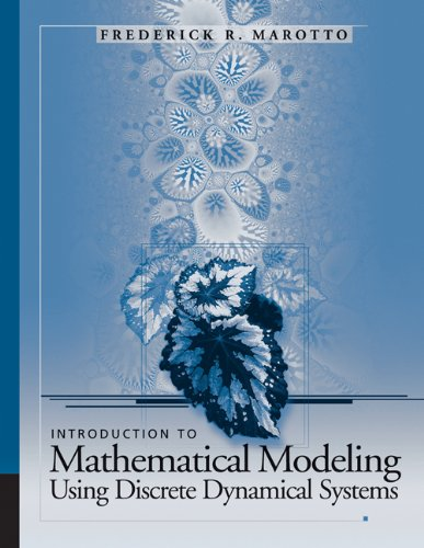 9780495014171: Introduction to Mathematical Modeling Using Discrete Dynamical Systems