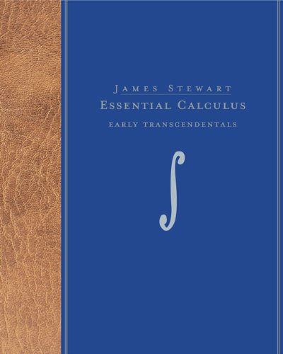 9780495014294: Student Solutions Manual for Stewart's Essential Calculus: Early Transcendentals