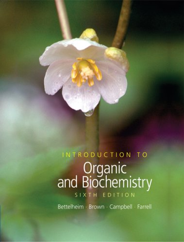 Introduction to Organic and Biochemistry (with CD-ROM: Frederick A. Bettelheim,