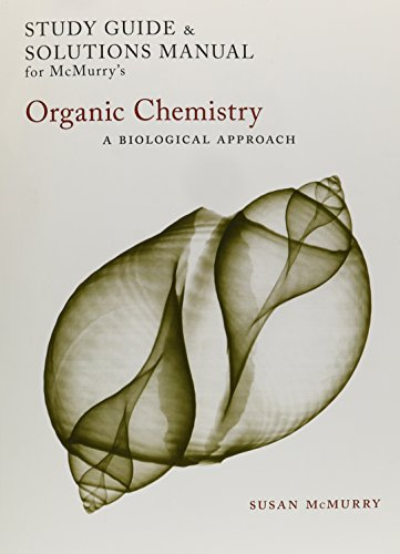 9780495015307: Study Guide/Solutions Manual for McMurry's Organic Chemistry: A Biological Approach