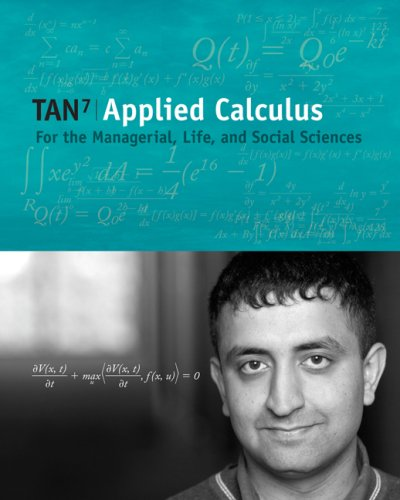 9780495015826: Applied Calculus for the Managerial, Life, and Social Sciences (with CengageNOW and Personal Tutor Printed Access Card) (Available 2010 Titles Enhanced Web Assign)