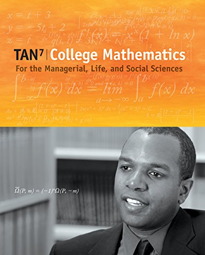 9780495015833: College Mathematics for the Managerial, Life, and Social Sciences (with CengageNOW Printed Access Card) (Available 2010 Titles Enhanced Web Assign)