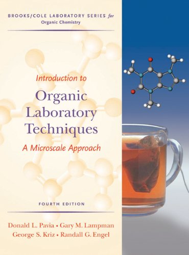 Introduction to Organic Laboratory Techniques: A Microscale: Pavia, Donald L.,