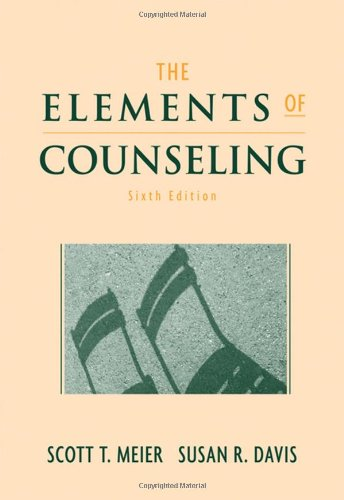 9780495017745: The Elements of Counseling