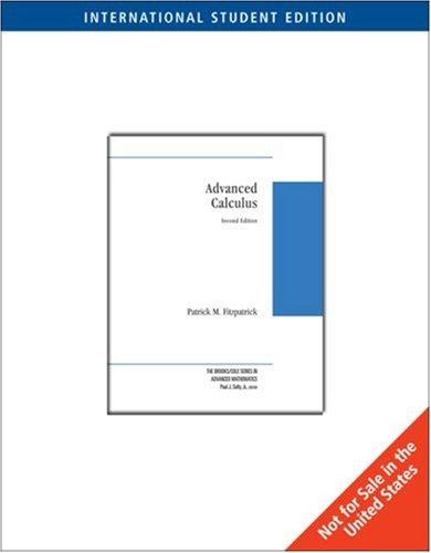 9780495018643: Advanced Calculus