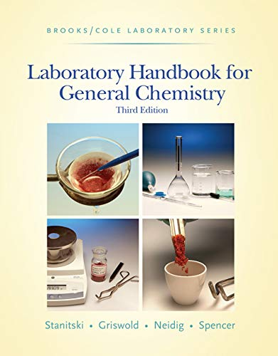 9780495018902: Laboratory Handbook for General Chemistry (with Student Resource Center Printed Access Card) (Brooks / Cole Laboratory Series)