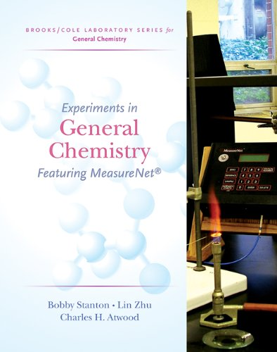9780495019251: Experiments in General Chemistry: Featuring MeasureNet (Brooks/Cole Laboratory Series for General Chemistry)