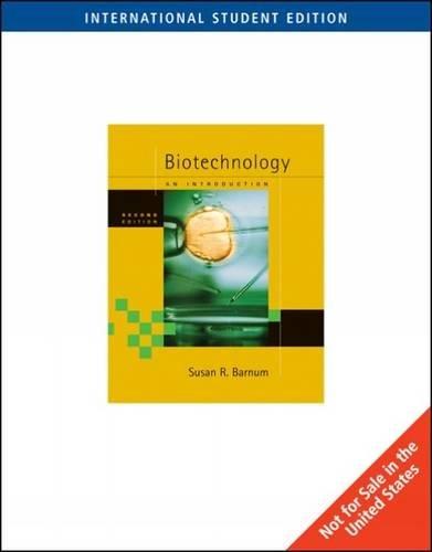 9780495019275: Biotechnology: An Introduction, International Edition