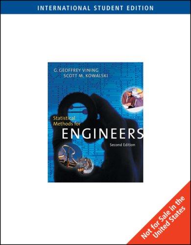 9780495019404: Statistical Methods for Engineers