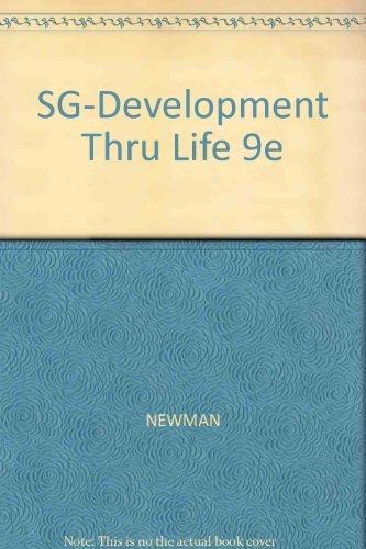 Study Guide for Newman/Newmanâ  s Development Through Life: Barbara M. Newman,
