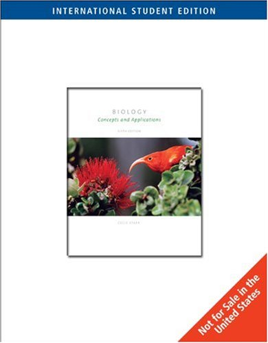 9780495031987: Biology: Concepts and Applications
