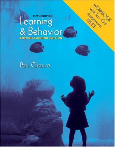 9780495032076: Learning and Behavior: Active Learning Edition (with Workbook)