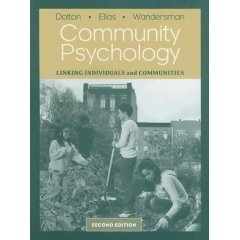 9780495039655: Community Psychology: Linking Individuals and Communities