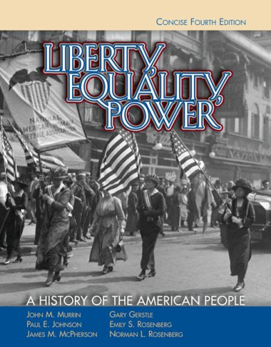 9780495050131: Liberty, Equality, Power: A History of the American People, Concise Edition