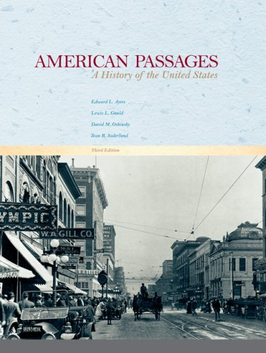 9780495050155: American Passages: A History of the United States
