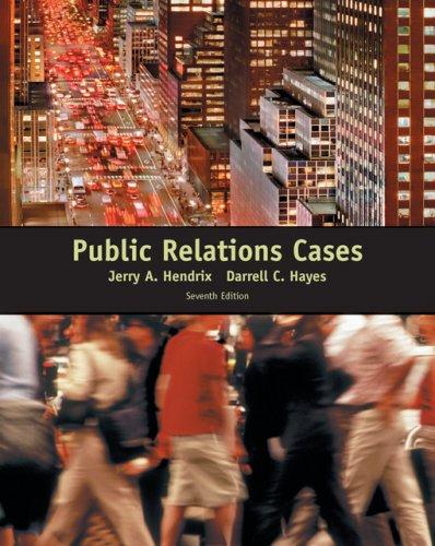 9780495050285: Public Relations Cases