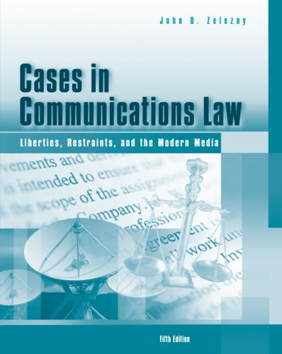 9780495050452: Cases in Communications Law