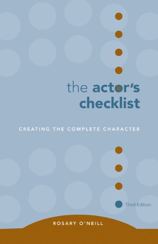 9780495050476: The Actor's Checklist