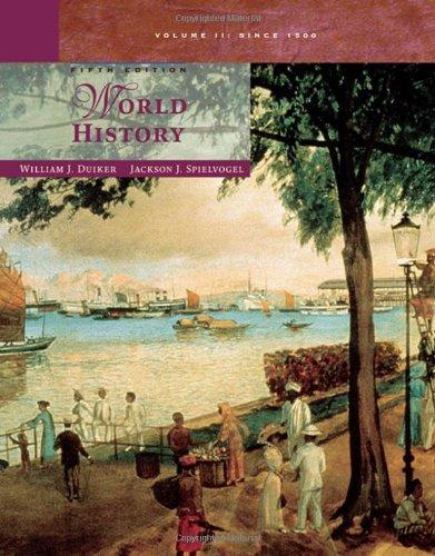 9780495050544: World History, Volume II: Since 1500