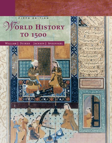 9780495050605: World History to 1500, 5th Edition