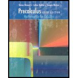 9780495055310: Precalculus : Mathematics for Calculus - With CD and Solution Man