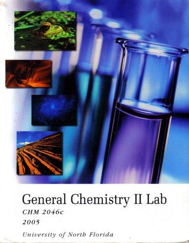 9780495056973: General Chemistry II Lab (CHM 2046c - University of North Florida)