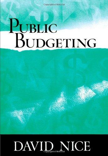 9780495063186: Public Budgeting