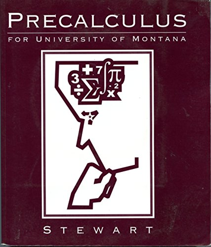 9780495074212: Precalculus Math 121 for the University of Montana