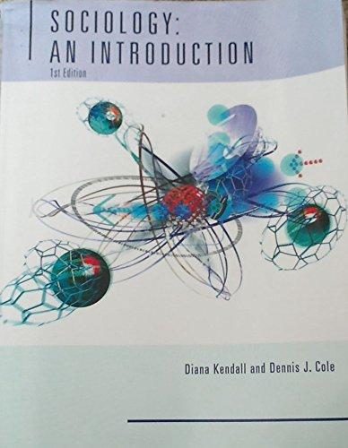 9780495077688: Sociology: An Introdution First Edition