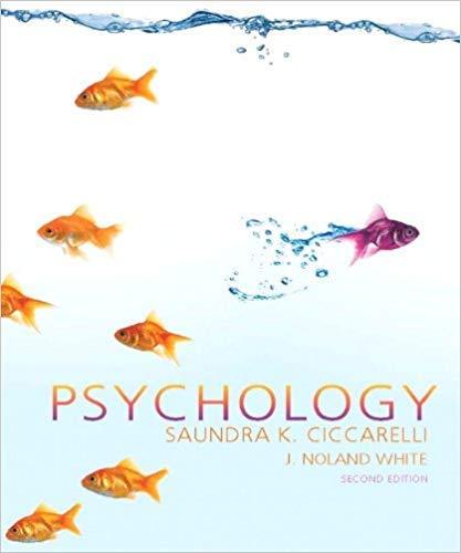 Psychology: SAUNDRA K. CICCARELLI