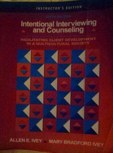 9780495090083: IE Intent Intrview/Couns 6e